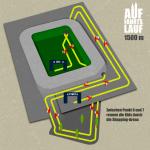 Streckenplan 1500 m