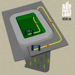 Streckenplan 450 m